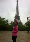 At the Eiffel Tower!